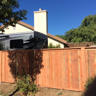 new fences in Temecula, Murrieta and Winchester CA