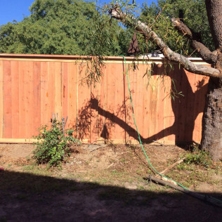 wood fencing in Temecula, Murrieta and Winchester CA
