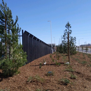 Prison Fence in Temecula, Murrieta and Winchester CA